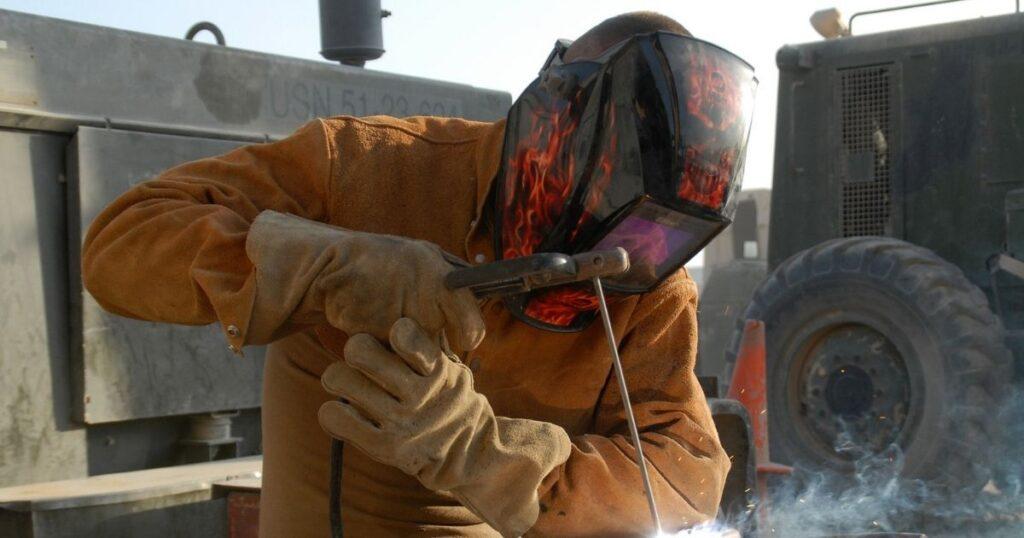 munkavédelem a hegesztésben